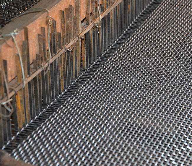 10×1mm Crimped Wire Mesh