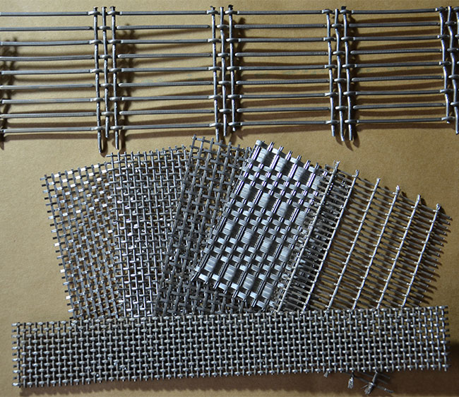 75×8mm Crimped Wire Mesh