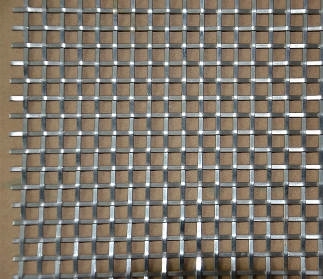 Crimped Oblate Wire Mesh