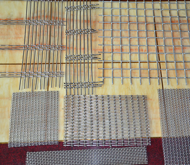 Oblong Decorative Crimped Mesh