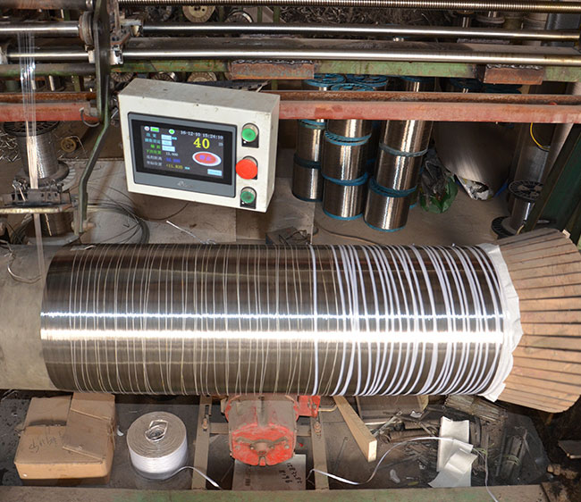 Wire Warping Beam