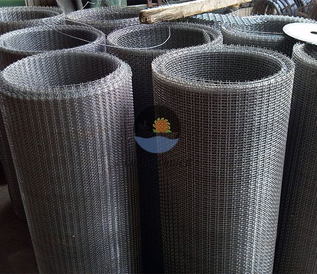 Oblong-Square Crimped Mesh