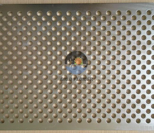 1000×2000mm Perforated Metal Sheet