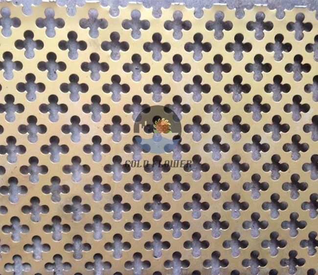 1220×2440mm Perforated Metal Sheet