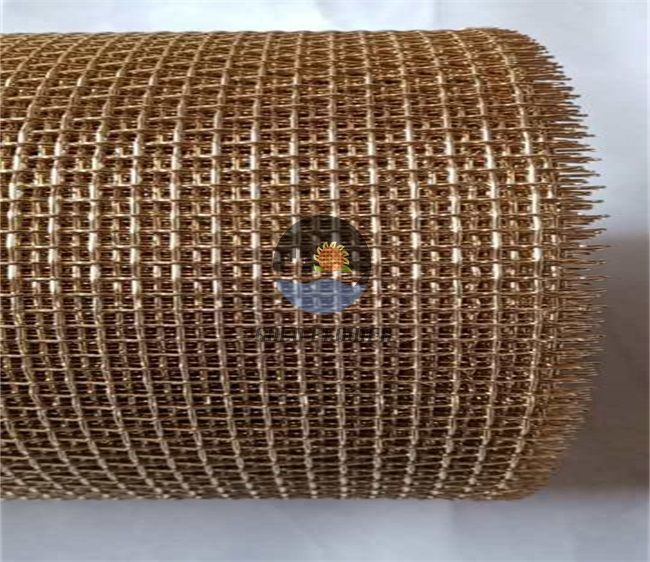 Non magnetic Copper Mesh