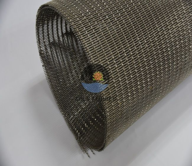 Low Carbon Steel Wire Crmped Wire Mesh