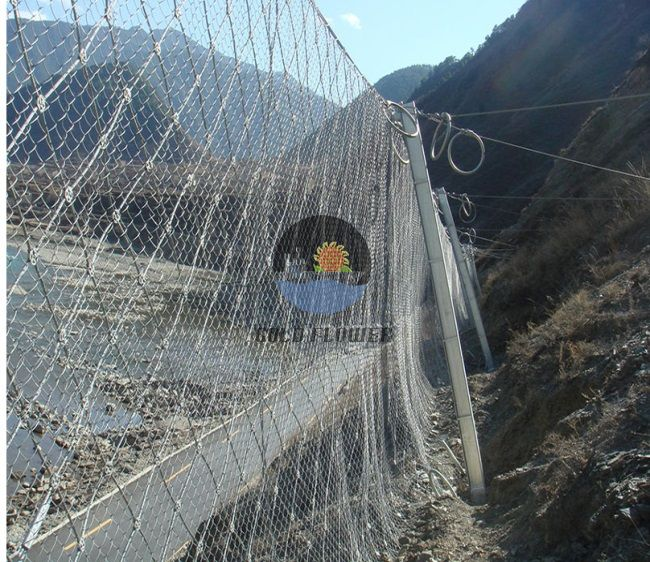 Slope Collapse Protection Mesh