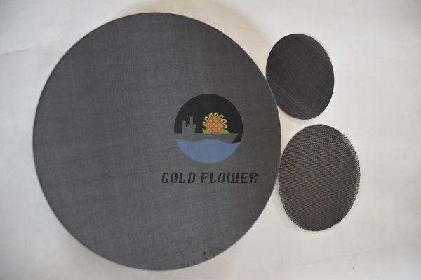 Black Wire Filter Mesh Goldflower